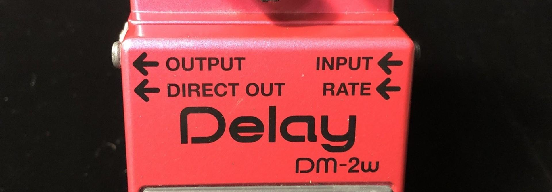 Boss Waza Craft DM-2w Delay