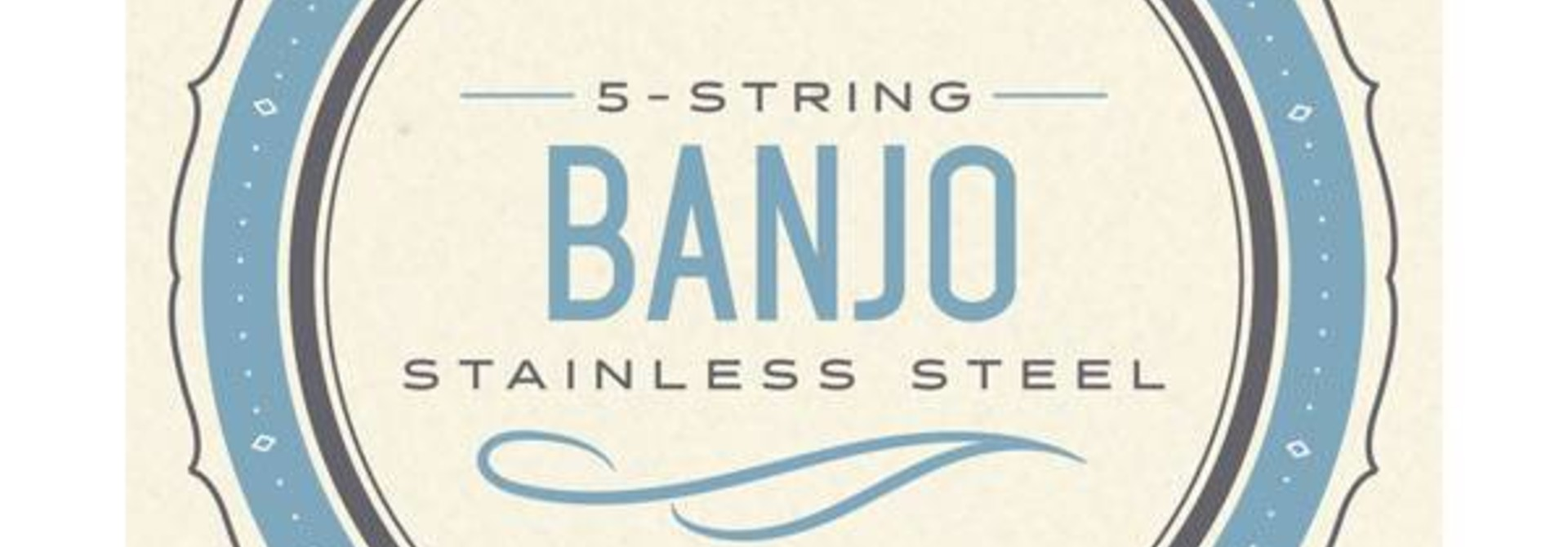 EJS60 5-String Banjo, Stainless Steel, Light, 10-20