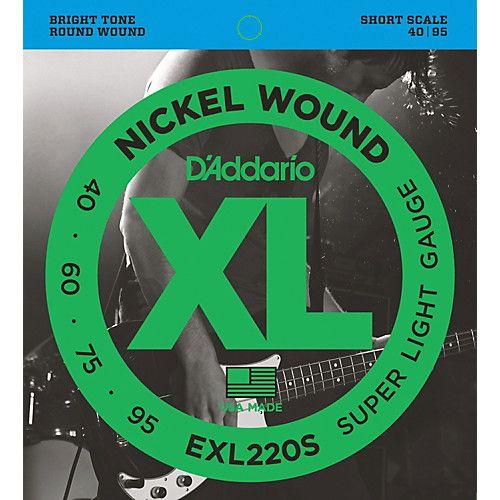 EXL220S Nickel Wound Bass, Super Light, 40-95, Short Scale-1