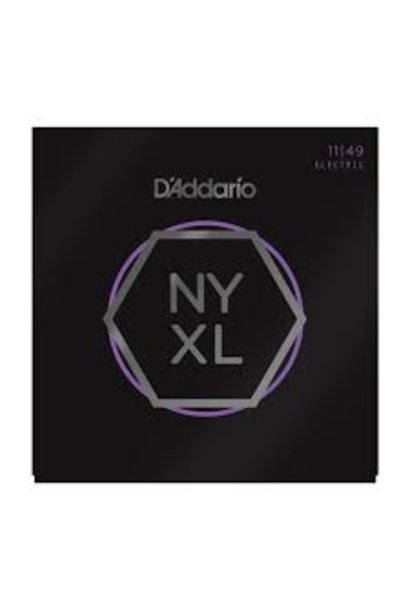 NYXL1149 Nickel Wound Electric Guitar Strings, Medium, 11-49