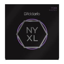 NYXL1149 Nickel Wound Electric Guitar Strings, Medium, 11-49-1