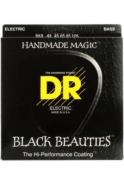 DR BLACK BEAUTIES BASS STRING 45-105 BKB45