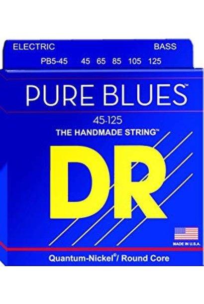 DR Pure Blues Bass 5 String 45-125 PB545