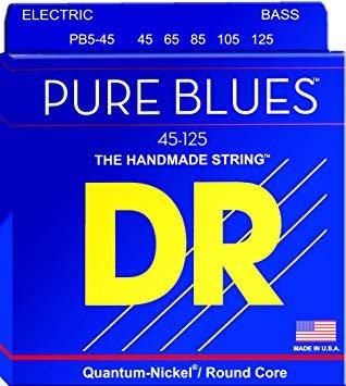 DR Pure Blues Bass 5 String 45-125 PB545-1