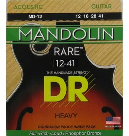 DR STRINGS HEAVY RARE MANDOLIN SET MD12