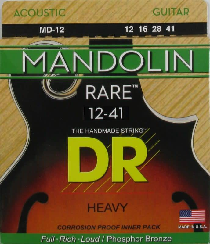 DR STRINGS HEAVY RARE MANDOLIN SET MD12-1