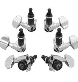 D'addario D'addario Auto Trim Tuning Machines Chrome (set of 6)