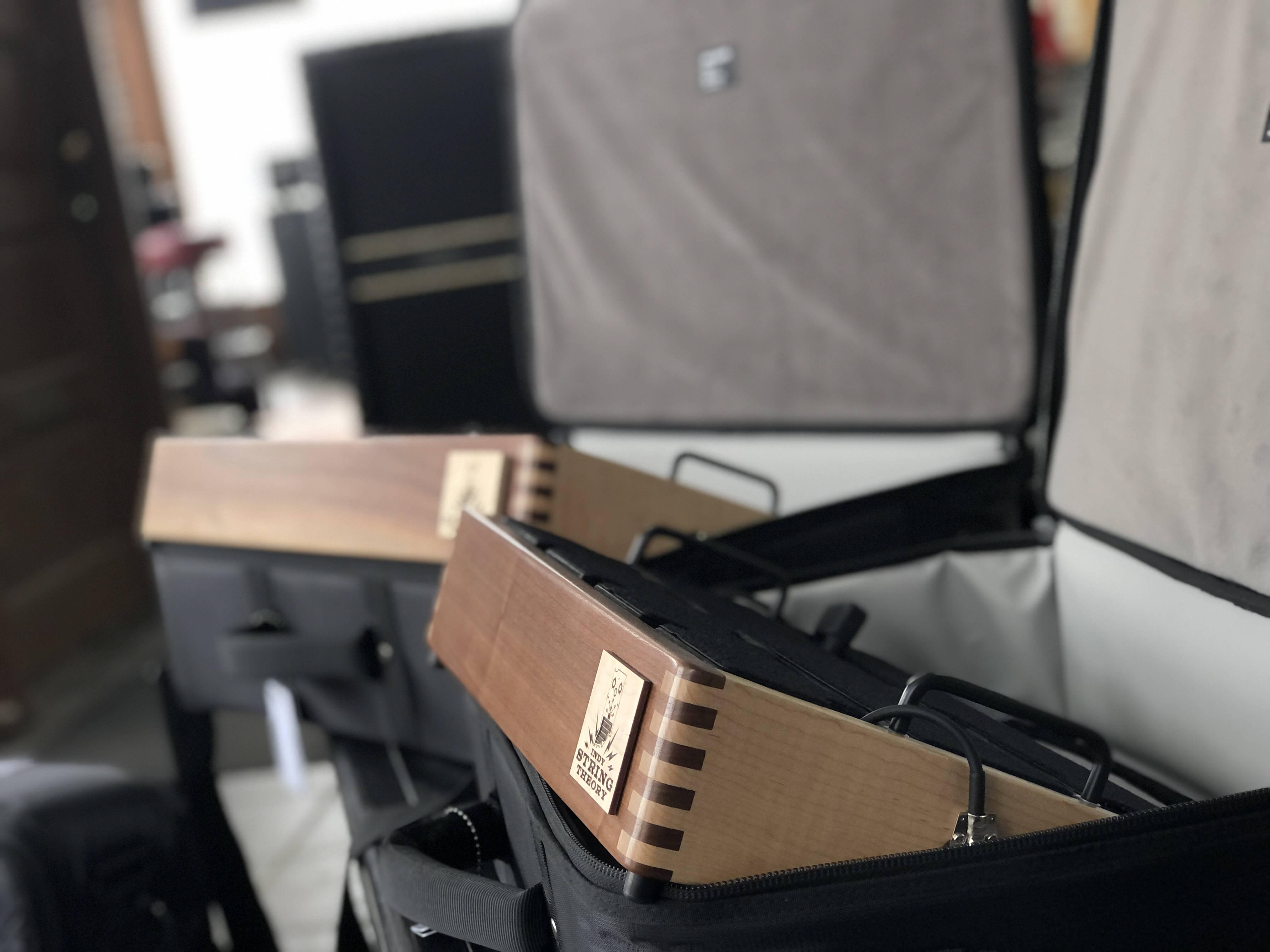 Handcrafted Hardwood Pedalboards