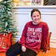 Bella Canvas This Girl Loves Christmas Top