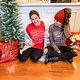 Bella Canvas Santa Lovin' Long Sleeve Christmas Top