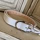 Artbox Leather Crocodile Belt