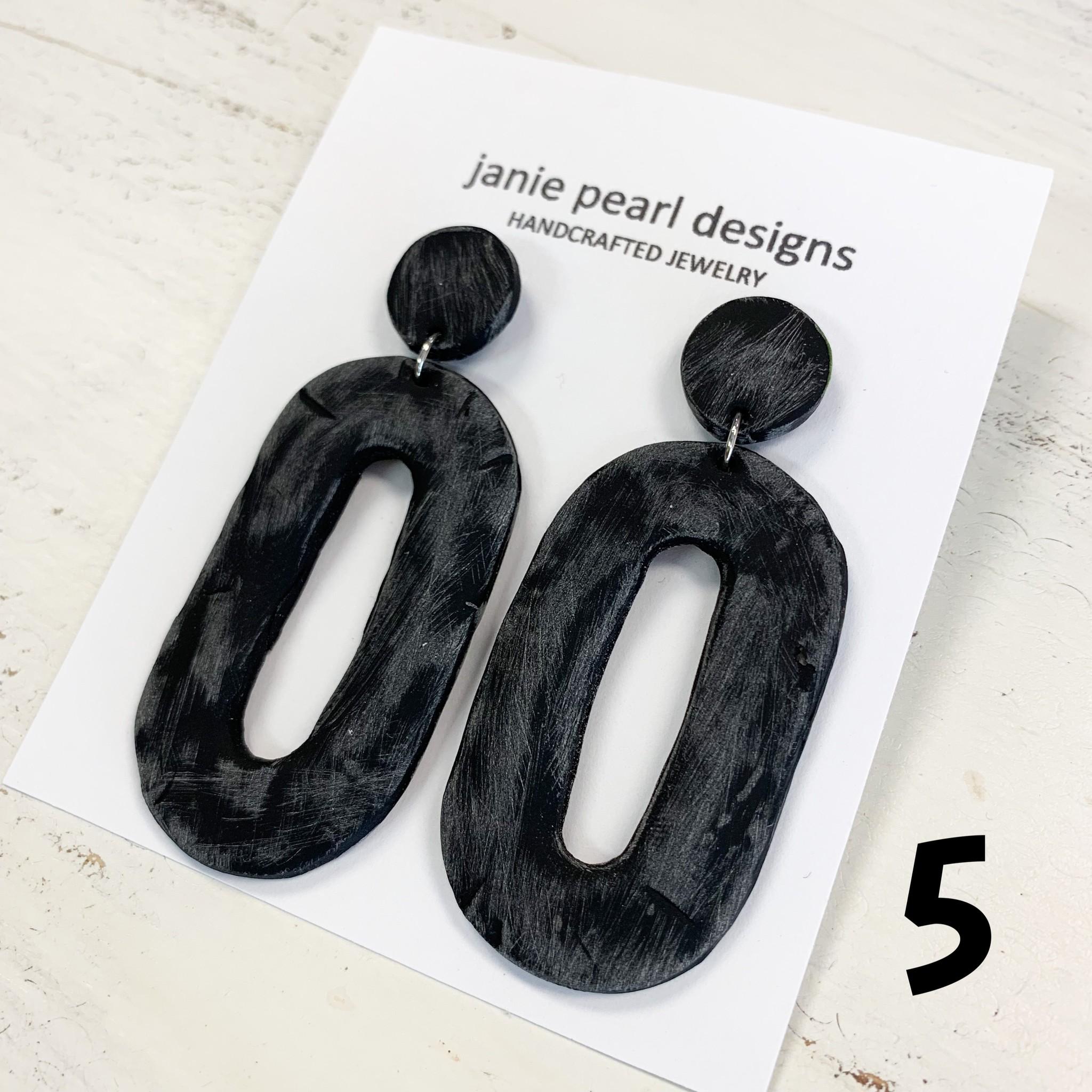 2 Tier Clay Earring