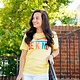 Kissed Apparel Heather Yellow Be Kind Graphic Tee