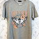 Zutter Grey Dreamer Butterfly Graphic Tee