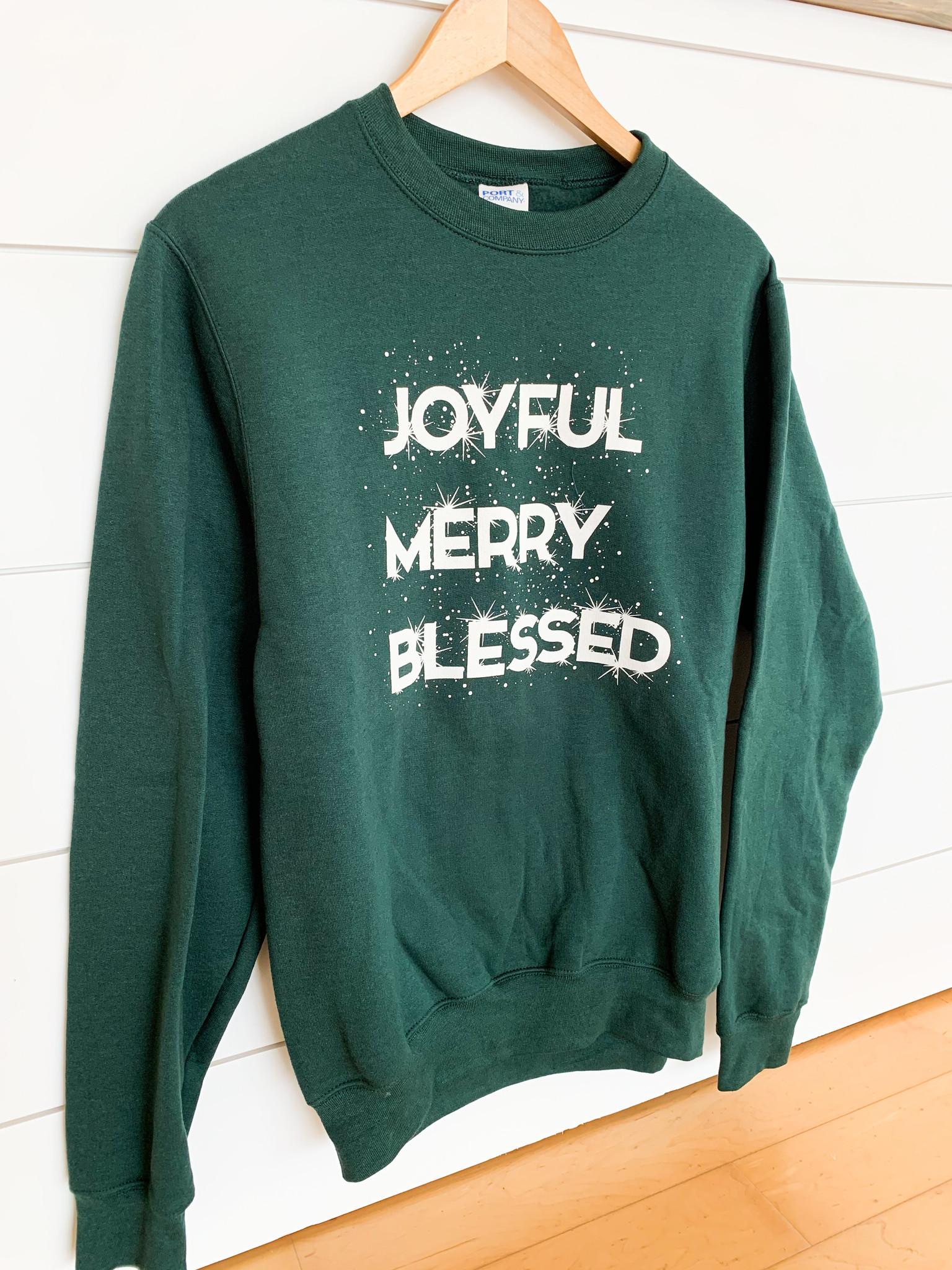 Joyful Merry Blessed Sweatshirt