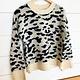 Cheetah Print Pullover Sweater