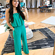 Jade Strapless Layered Detail Jumpsuit