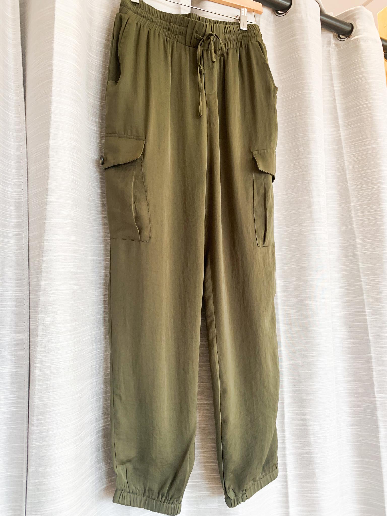 Olive Cargo Pants
