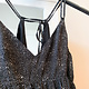 Black Double Strap Mini Dress