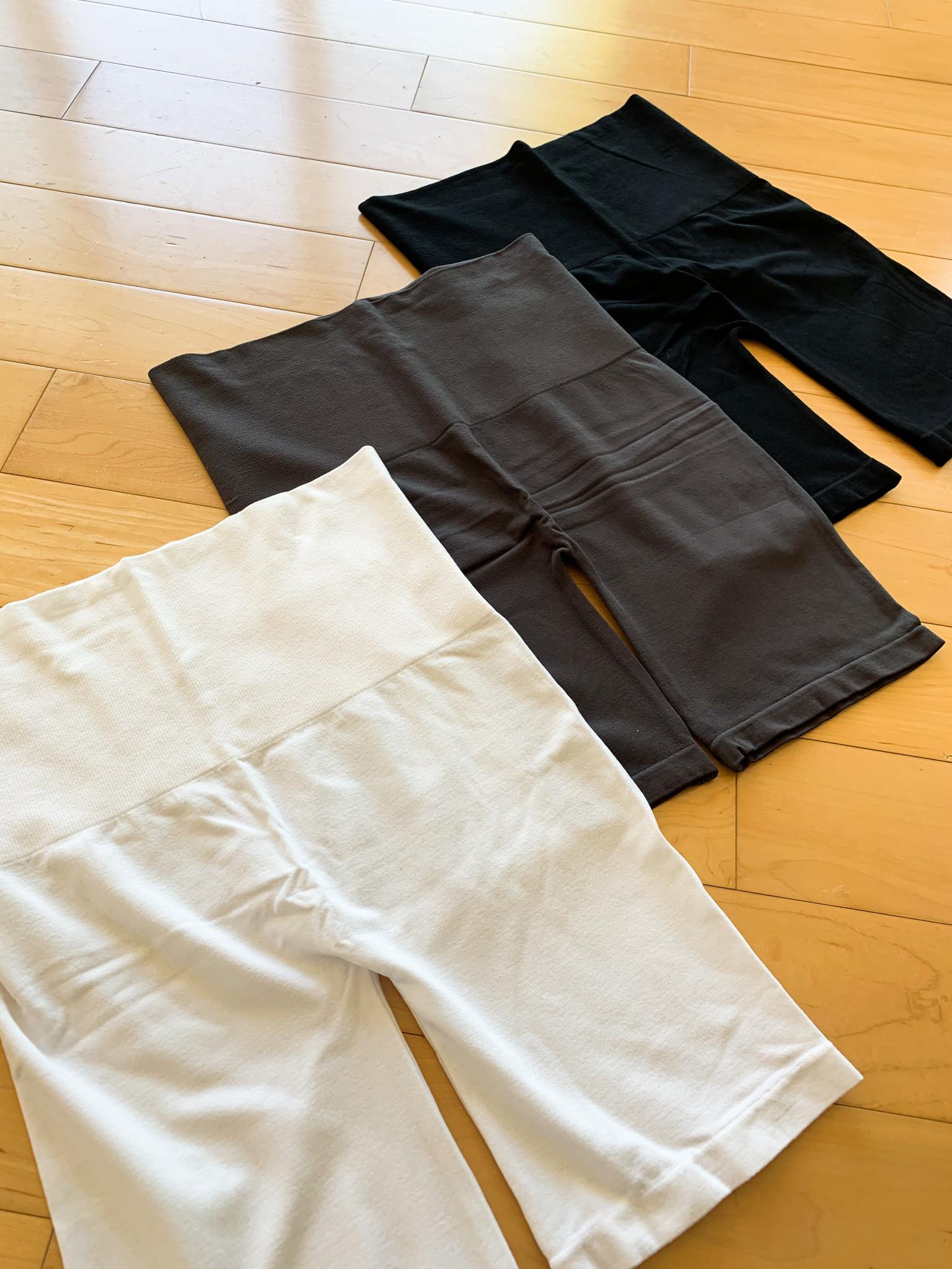 Eleitian High Waist Tummy Control Biker Shorts