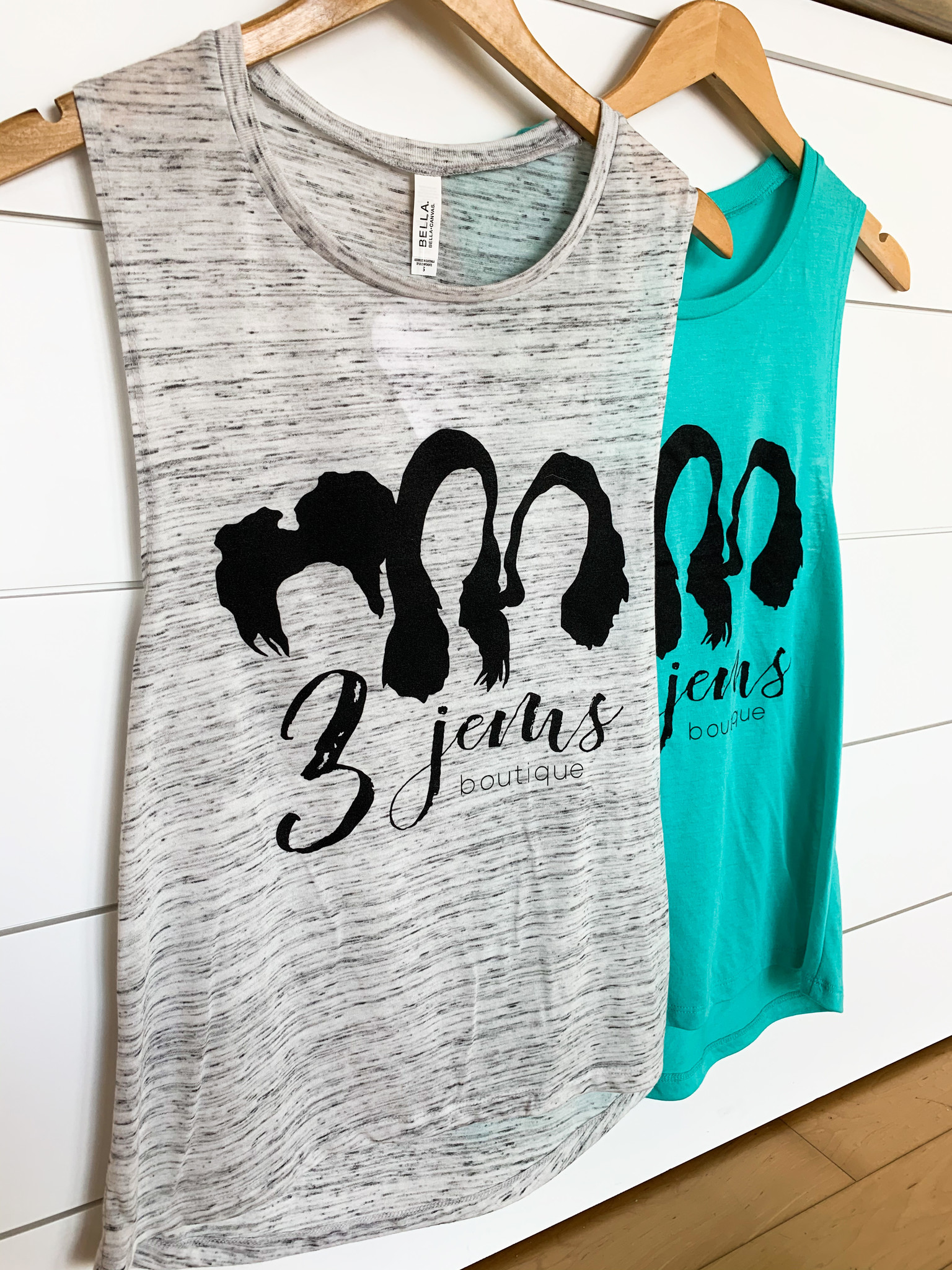 3 jem's Muscle Tank Top