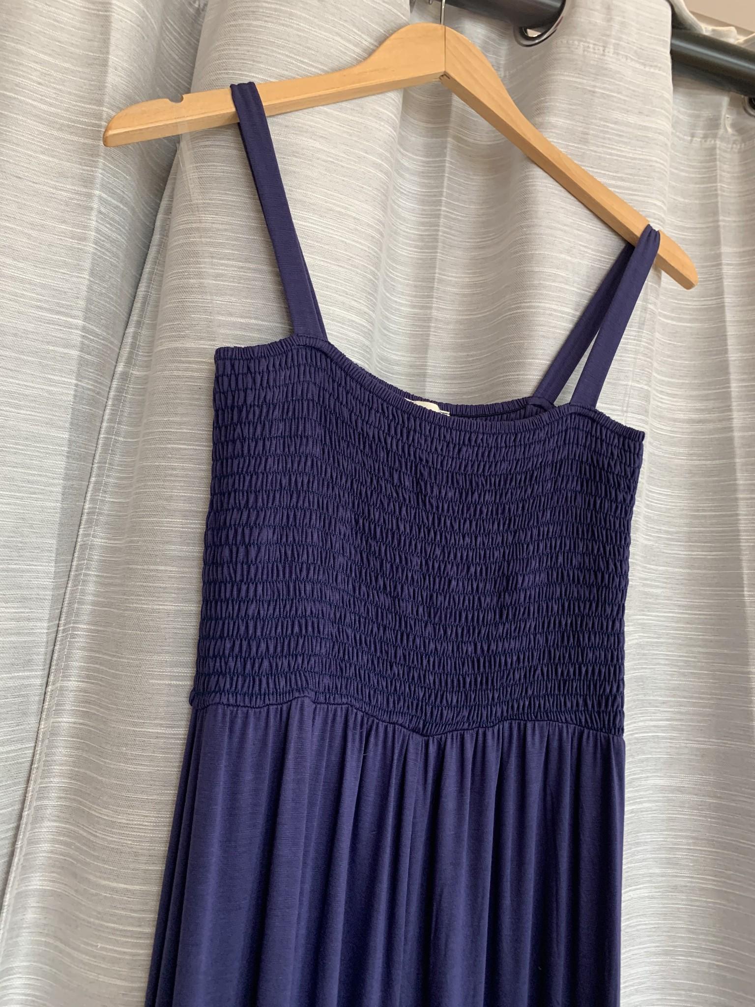 Denim- Sleeveless Solid Knit Wide Leg Jumpsuit