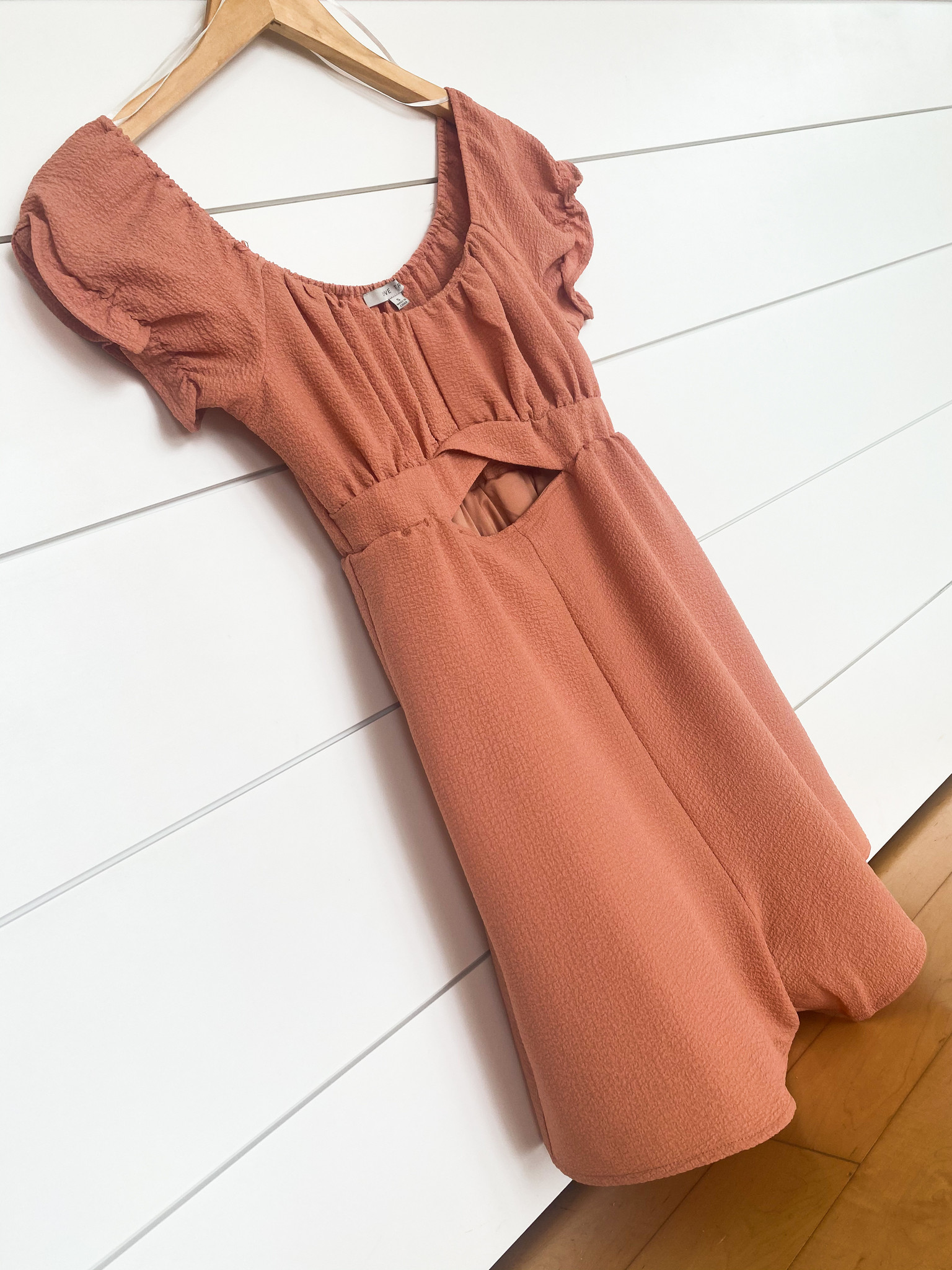 Clay Front Cut Out Romper