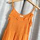 Mango Smocked V-Neck Mini Dress