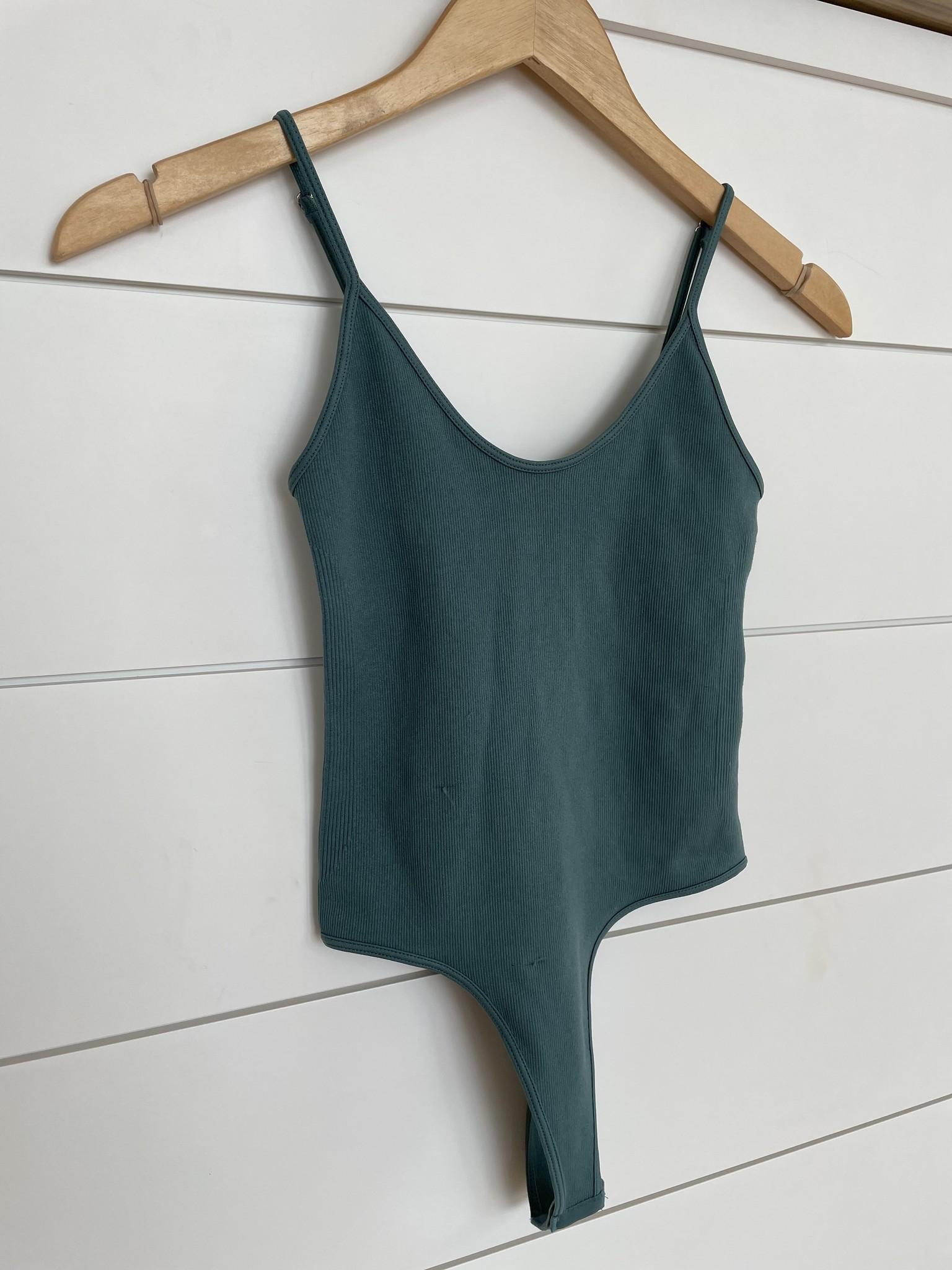Rib Cami Bodysuit