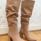 Blush Tall Boot With Heel