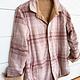 Corduroy Checkered Reversible Jacket