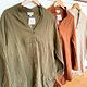 Plush Cotton Gauze Buton Down Oversized Shirt