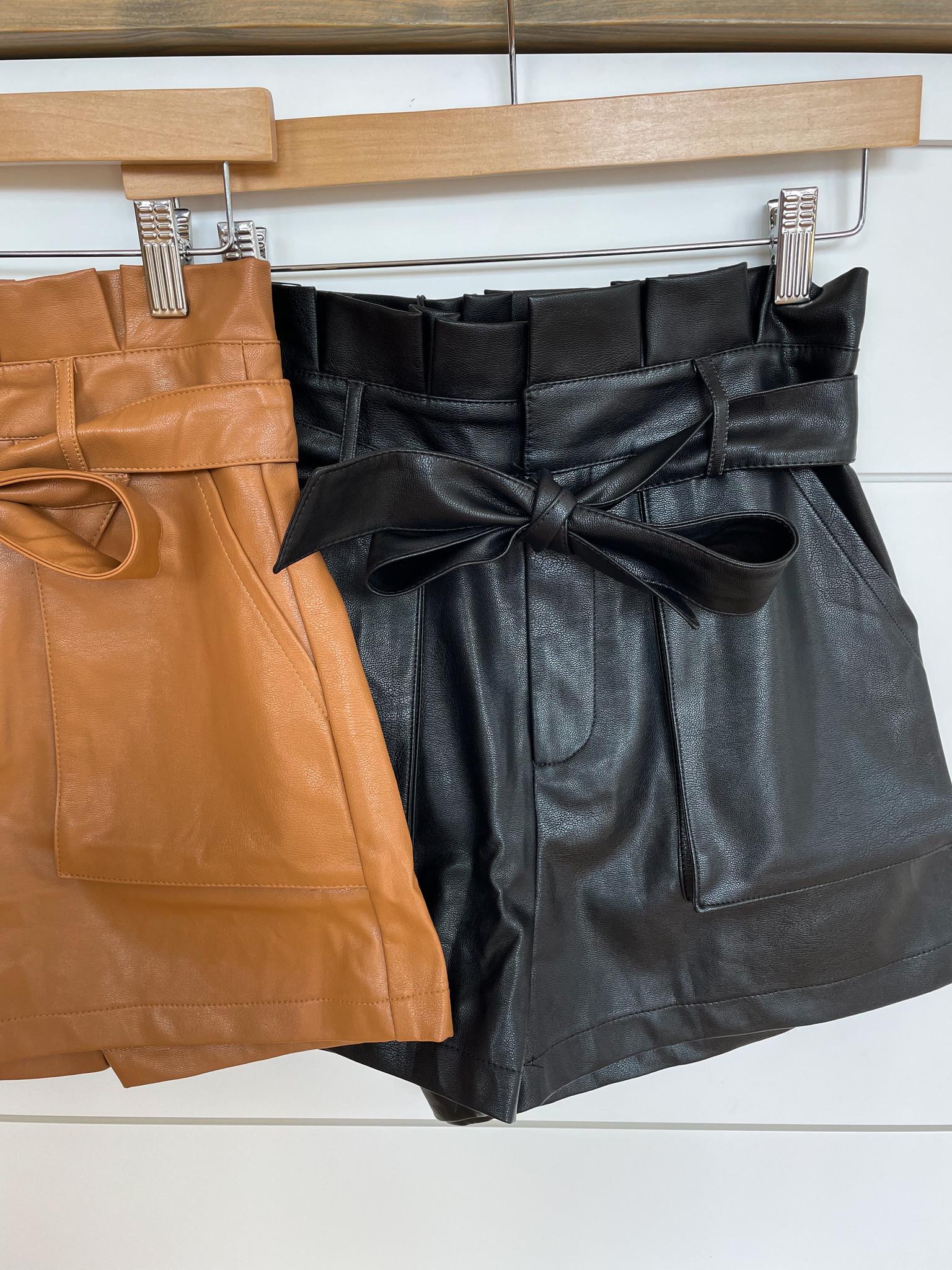 Vegan Paper Bag Shorts