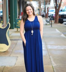 e9624c764d Solid Tank Maxi Dress w/ Pockets