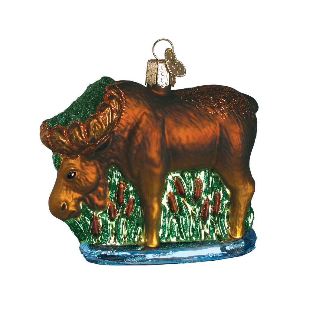 Old World Christmas Munching Moose