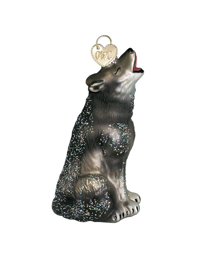 Old World Christmas Howling Wolf