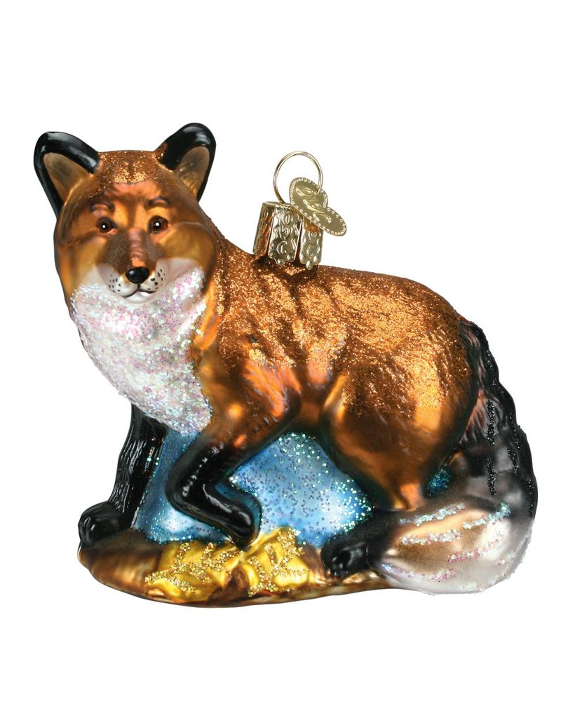 Old World Christmas Red Fox