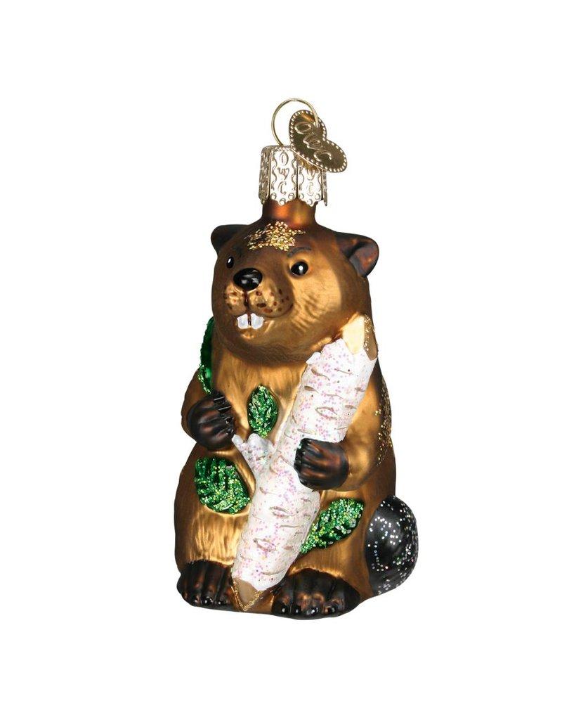 Old World Christmas Eager Beaver