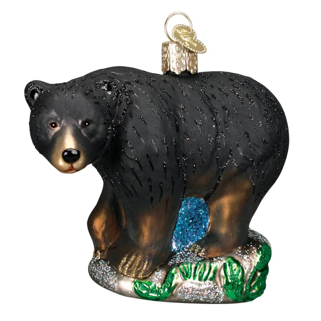 Old World Christmas Black Bear