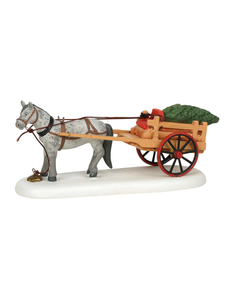 Christmas Delivery for New England Village