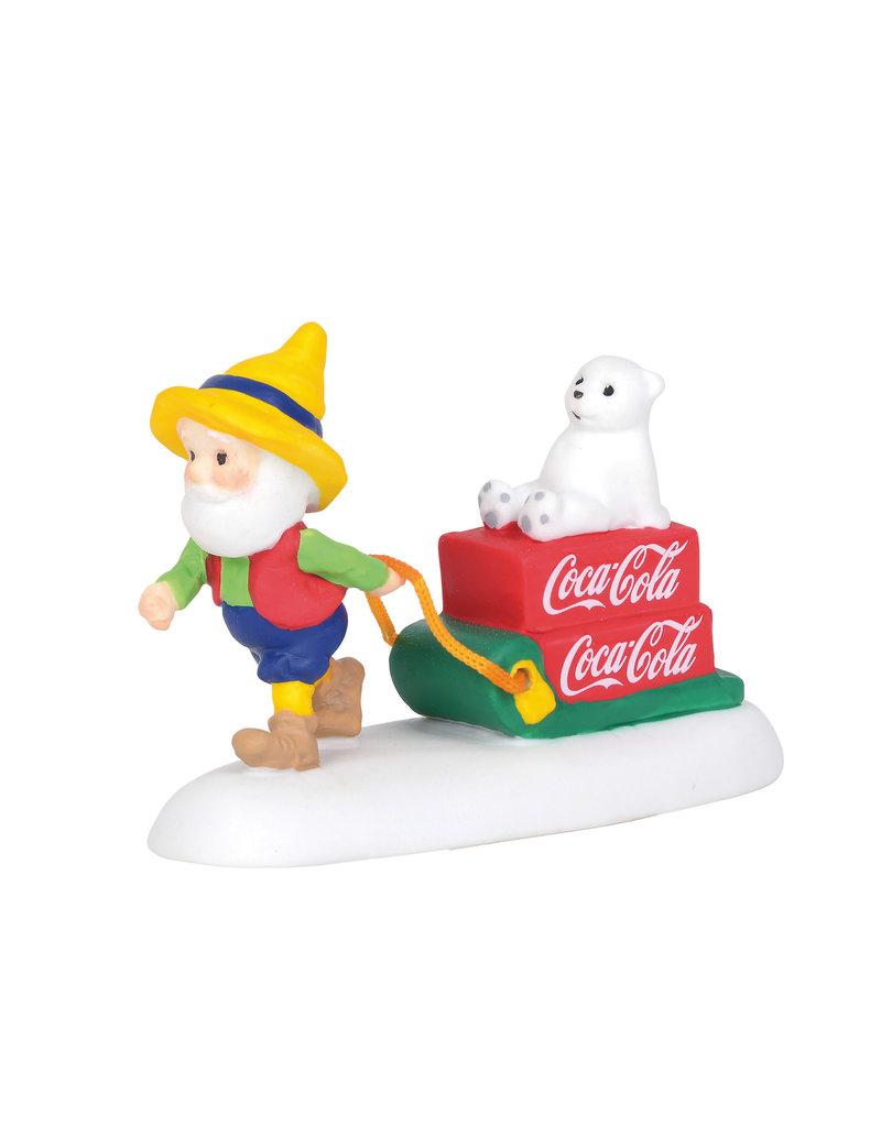 Coca-Cola Special Delivery for North Pole Village
