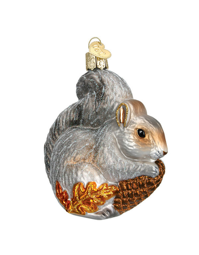 Old World Christmas Hungry Squirrel
