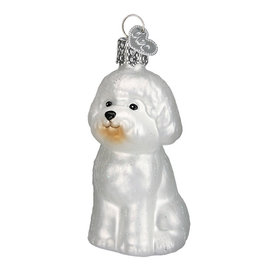 Old World Christmas Bichon Frise
