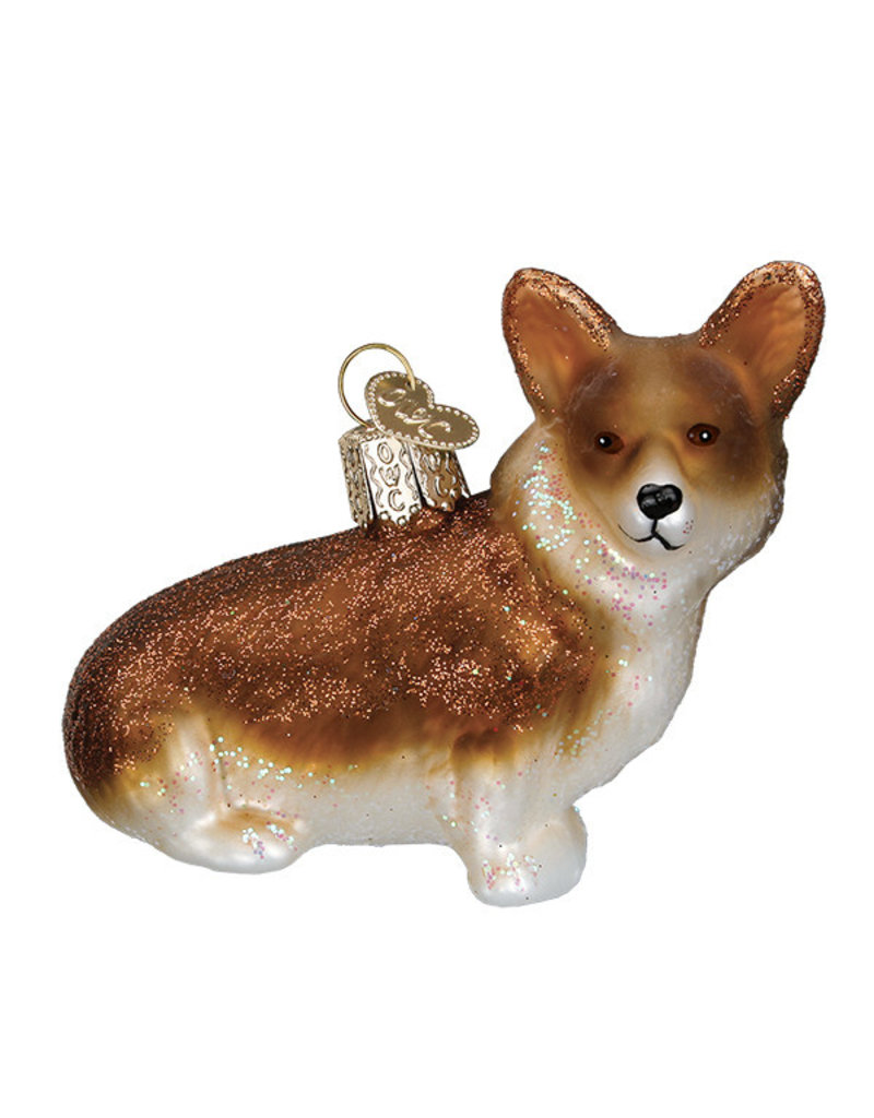 Old World Christmas Pembroke Welsh Corgi