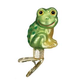 Old World Christmas Happy Frog