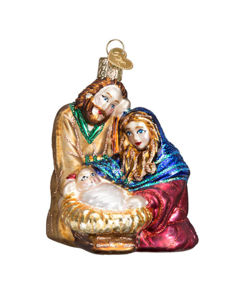 Old World Christmas Holy Family