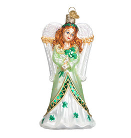 Old World Christmas Irish Angel
