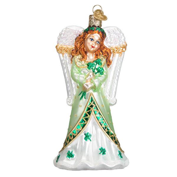 Old World Christmas Irish Angel