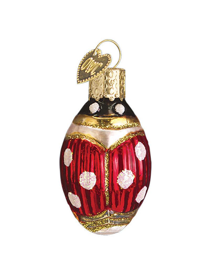 Old World Christmas Lucky Ladybug