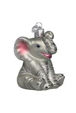 Old World Christmas Little Elephant